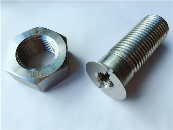 د ګمرک کاربن فولاد فلزي هارډویر تعقیب بولټ او مغز