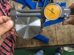 S31803 د هیکس کیپ سکرو ابعاد ټیسټ